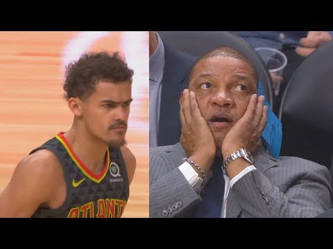Trae Young Schools Entire Clippers Leaving Doc Rivers In Disbelief! Hawks vs Clippers