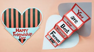 Friendship Day Cards 2020 | Friendship Day Greeting Cards Latest Design Handmade