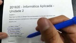 Informatica Aplicada - Unidade 2
