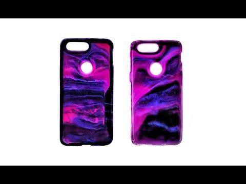 Resin Art - DIY Phone Case