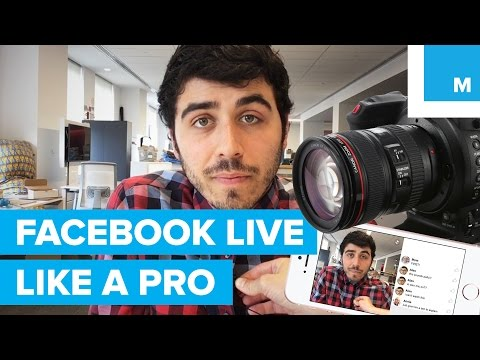 How to Facebook Live Like a Pro | Mashable