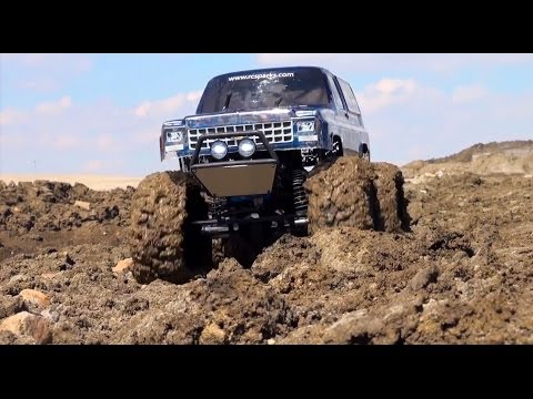 RC ADVENTURES - MUD BOGS - Sloppy Mudding in 4x4 Off-Road Scale Truck (The Beast!)