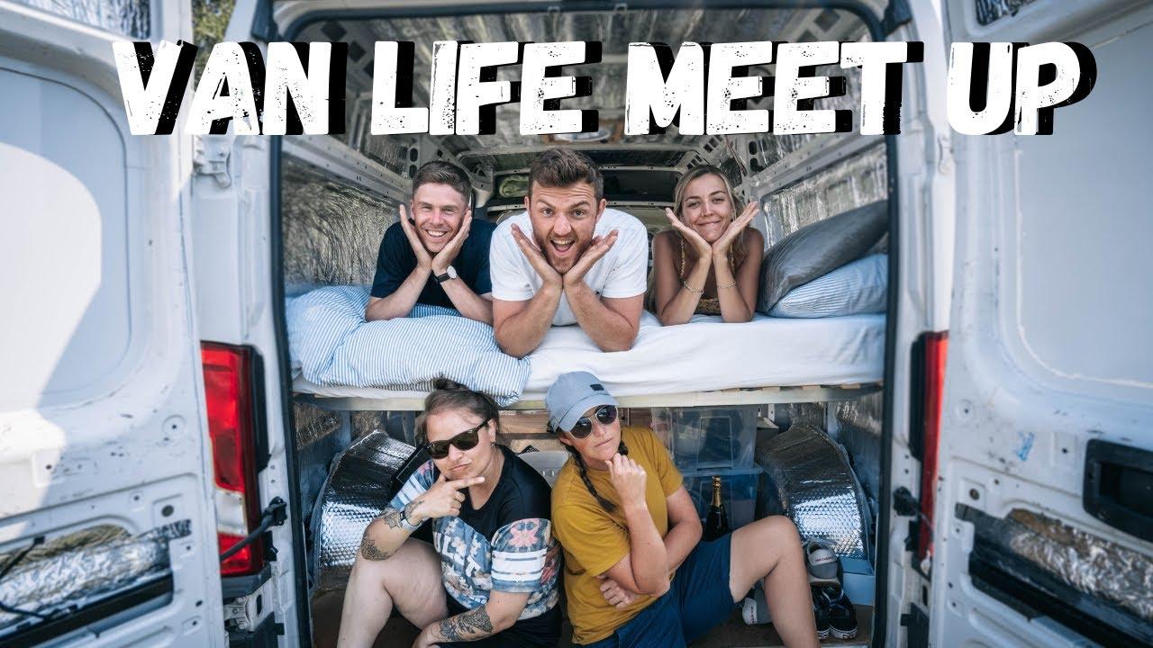 VAN LIFE MEET UP & £60,000 MOTORHOME TOUR