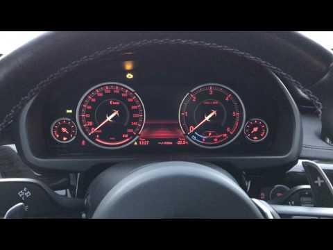 Запуск дизельного BMW F16 30d в мороз