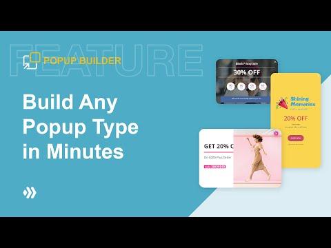 Magezon Popup Builder | Build Any Popup Types in Minutes