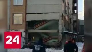 Взрыв газа в подмосковных Люберцах: двое пострадавших