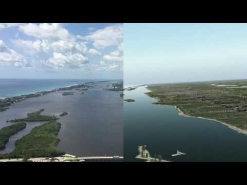 X-Plane vs. Reality Landing  - PBI (Palm Beach International) Side by Side Comparison