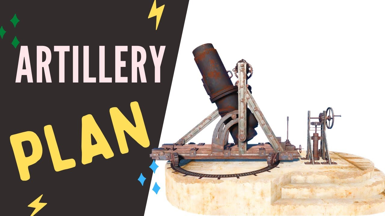 Fallout 76 Artillery Plan Location Youtube