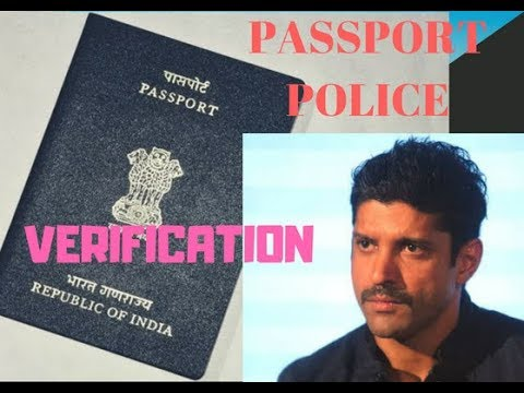 Passport Police Verification