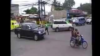 Dancing traffic in Tagum City Part 2