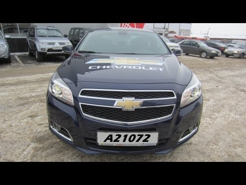 Chevrolet Malibu Тест-драйв.Anton Avtoman.