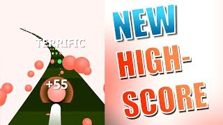 NEW HIGHSCORE IN COLOR ROAD!