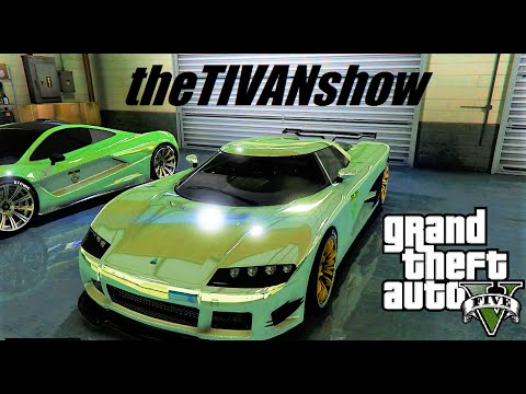 GTA 5 : XZULAS is BACK with his DLC RACES for GRAND THEFT AUTO 5 - PS4 - LIVE