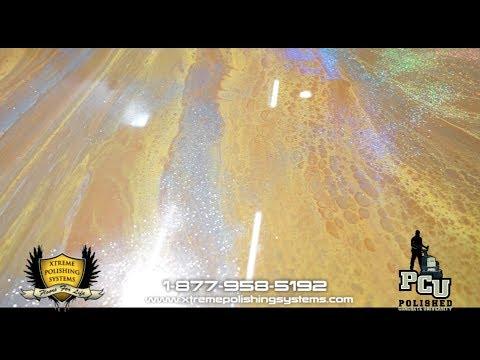 How to Make a Metallic Glitter Epoxy Countertop Start to Finish