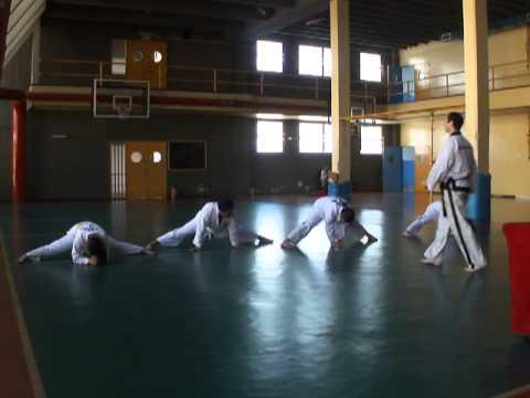 TKD GEBA: Examen - Elongación post-ejercicios