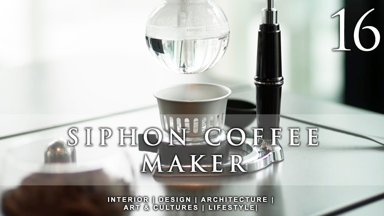 Siphon Coffee Maker - YouTube