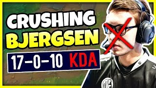 RANK 1 KAYN'S GREATEST GAME OF HIS LIFE! (CRUSHING TSM BJERGSEN) - League of Legends