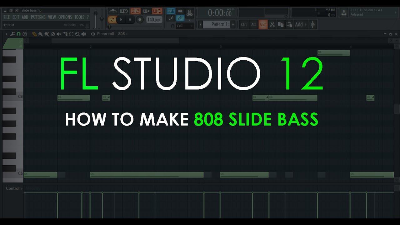 How to Make 808 Slide Bass | FL Studio 12 Tutorial