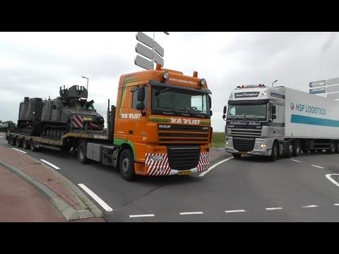 trucks, trucks, trucks, including convoi exceptionnel, military transport part 1 of 2, 20-9-2013