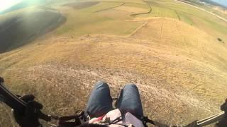 afyon yamaç paraşütü eğitim uçuşu