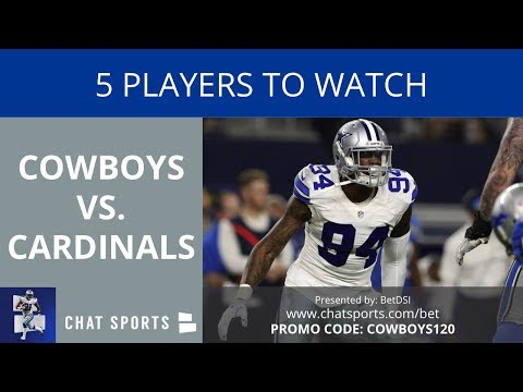 Cowboys vs. Cardinals Preview: 5 Players To Watch In Week 3 Of The NFL Preseason - 동영상