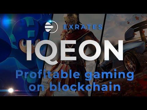 IQeon blockchain ecosystem: profitable gaming on blockchain