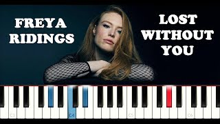 Freya Ridings - Lost Without You (Piano Tutorial) Video