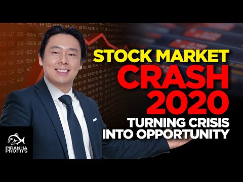 Stock Market Crash 2020, Turning Crisis into Opportunity
