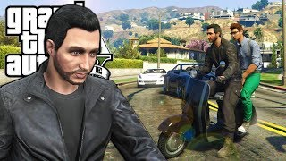 We Joined a Biker Gang and Caused Chaos in GTA 5 Online! - GTA V Funny Moments