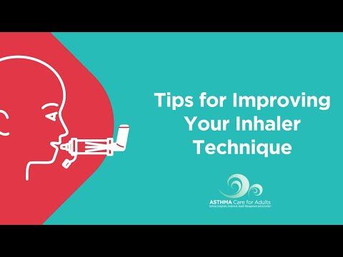 Tips for Improving Your Inhaler Technique