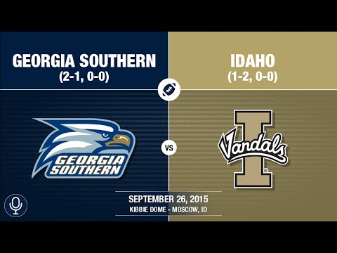 2015 Week 4 - Georgia Southern at Idaho (GS Radio)