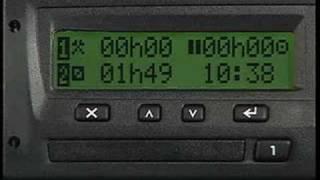 Le tachygraphe numérique - 1ère partie
