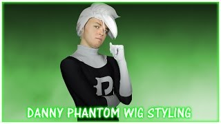 Danny Phantom Wig Styling Time Lapse