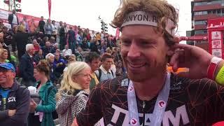 Evert Scheltinga na Challenge Almere-Amsterdam