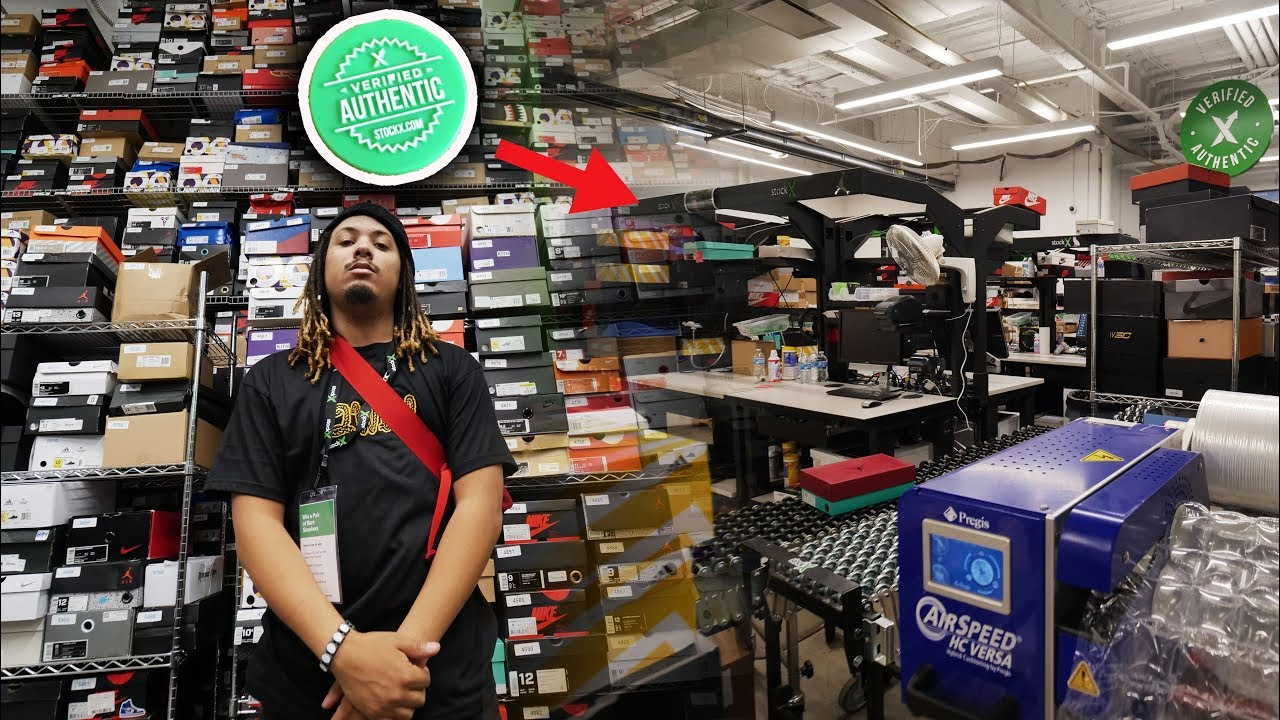 THE TRUTH ABOUT STOCKX & HOW SHOES ARE AUTHENTICATED !! INSIDE THE  AUTHENTICATION STATION #STOCKXDAY