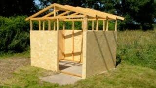Holzhütte selber bauen mit meineHolzhütte.de