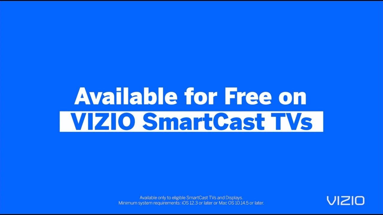 Introducing VIZIO + Apple AirPlay 2 & HomeKit