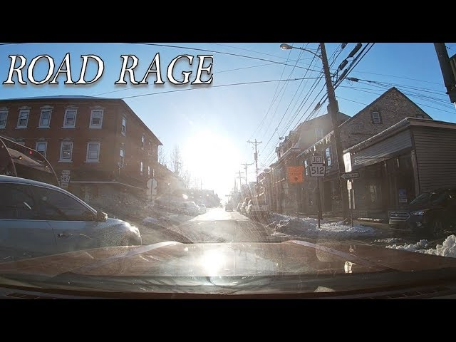 Road Rage Driver Dangerous & Illegal