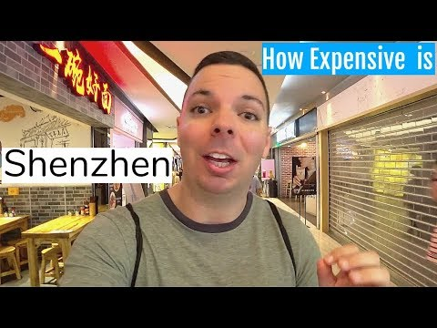 How Expensive is Shenzhen China? TRAVEL COST