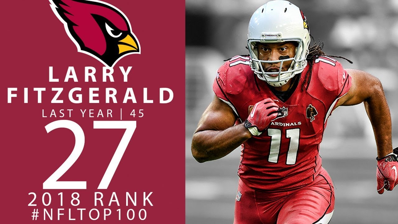 the best attitude 01e64 4b722 #27: Larry Fitzgerald (WR, Cardinals) | Top 100 Players of 2018 | NFL