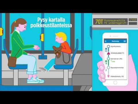 Pysy ajan tasalla | HSL Helsingin Seudun Liikenne
