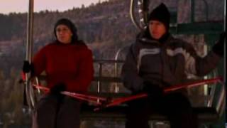 Larry David Rides the Ski Lift