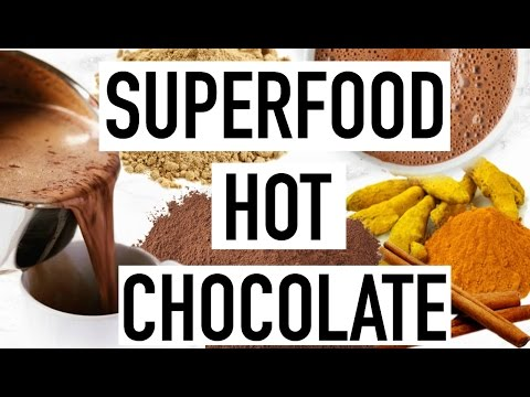 Superfood Hot Chocolate! Healthy Winter Drink Idea!