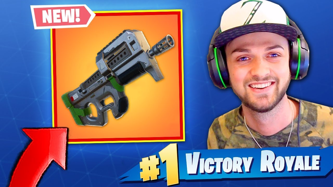 *NEW* LEGENDARY SMG in Fortnite: Battle Royale! (FIRST LOOK)