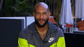 Hoarse but happy: Tim Howard talks to Robin Meade