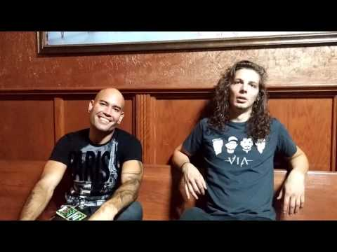 Bridge to Grace interview for Rock Rage Radio pt1 of2
