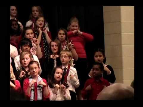 Stephanie's Leary Elementary school 12 3 2008 Concert 7