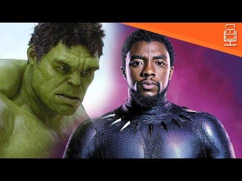 Hulk & Black Panther Avengers Infinity War Relationship