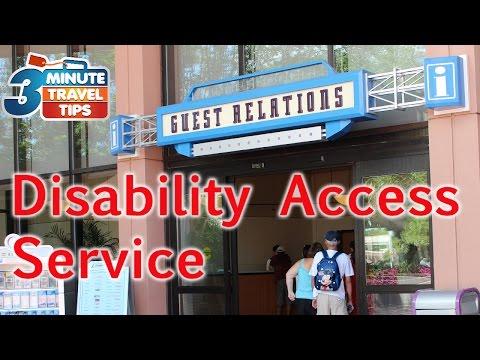 Disability Access Service program at Walt Disney World and Disneyland (3MTT LIVE #18)