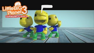 LittleBigPlanet 3 - Roblox oof songs but in littlebigplanet